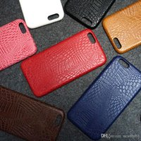 alligator skin iphone case - Leather Cell Phone Cases iphone s plus case cover shiny alligator crocodile grain leather skin flip case For Iphone S Plus