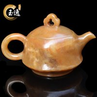act pots - Natural guilin chicken blood jade put the pot of wine tea pot household act the role ofing is tasted the original stone furnishing ar