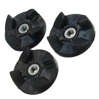 Wholesale 2 Plastic Black Transparent Gear Base Rubber Gear Spare Parts Replacement Best Price
