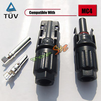 electrical connector - 500 pairs Factory Directly TUV MC4 Solar PV Adapter Connector IP67 A V
