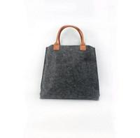 add shop - New Women s felt Shopping bag Handbag Tote Shoulder Bag Can add logo