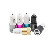 apple used cars - Metal Dual USB Port Car Charger light up car adapter Universal use for Apple iPhone iPad iPod Samsung Galaxy Motorola Android Nokia HTC