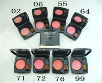 Wholesale New Professional Makeup Powder Blush With Mirror And Brush g