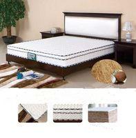Wholesale Hot selling Natural environmental coconut palm mattress Zero formaldehyde mattress No glue bonded mattress Super knitted fabrics