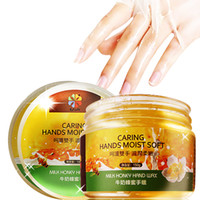 Wholesale 2016 time limited direct selling pure honey milk glycerin vitamin e byfunme free machine milk honey hand wax film care home garden