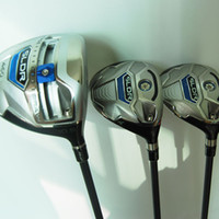 Wholesale New mens Golf clubs SLDR Golf wood set Driver Fairway woods with Graphite Golf shaft headcover Wood clubs