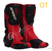 Wholesale Motorcycle Boots Men Racing Speed Motocross PB TD MR OT th