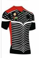 Wholesale 16 New Palestinians soccer Jersey Palestinians Soccer black Uniform