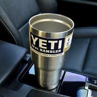 beer on sale - On sale YETI oz Cups Cooler YETI Rambler Tumbler Travel Vehicle Beer YETI Mug Tumblerful Bilayer Vacuum Insulated Stainless Steel