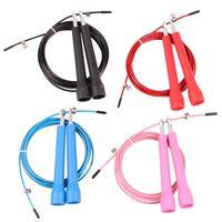 Wholesale 3 METERS Ultra Speed Original Cable Wire Skipping Skip Adjustable Jump Rope Crossfit home gym fitness crossfit jump rope