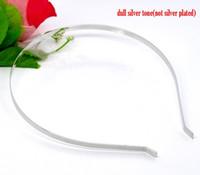 Wholesale jewelry baggies Silver Tone Headbands Hair Band x12 mm mm wide B12459 yiwu jewelry wire