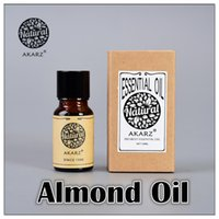 anxiety eye - AKZRZ Famous Brand Pure Natural Almond Essential Oil Care Hair Eliminate The Corner Of The Eye Wrinkles Skin Smooth Almond Oil Y048