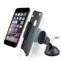 360 degrés universelle de pare-brise de voiture magnétique Support tableau de bord Support pour téléphone portable # 71325 protection de pare-brise
