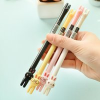 Gel Pens art material supply - 36 Black ink mm gel pen for writing Kawaii school supplies Stationery Office accessories Material Escolar