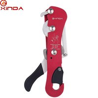 Wholesale XINDA Rock Climbing Handle Control Non Confusion Abseiling Device Stop Descender Outdoor Rappelling Rescue For mm Rope