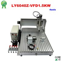 Wholesale 1 KW Power water cooled spindle cnc router axis cnc milling machine for metal wood stone sculpture with