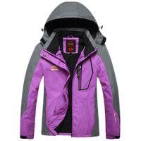 Gros-Bonne affaire des femmes en plein air Camping Sports randonnée Vestes manteau imperméable