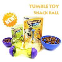 Wholesale New Dog and Cat Snack ball toy Cat toy Shaking Q pet toy Boneshape Snack Holder