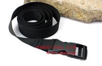 belt splicing tools - 2pcs Outdoor Straps Nylon Tape Backpack Buckle Cord lock Tie Belt Sleeping Bag Tool