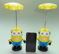 audio match - The cute yellow man led ligth also used as bluetooth speaker match for TF card USB driver creative led light