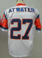 authentic letter - Discount Cheap Steve Atwater Jersey Throwback Football Jersey Best quality Authentic Jersey Size M L XL XXL XXXL Accept Mix Orde