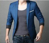 Wholesale Plus Size Formal Men Suits Fashion One Button V Neck Pocket Jacket Men Business Suits Fit Silm Blazers Suit For Office Work NSH11