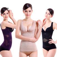 beige microfiber - Comfortable Breathable Women Underwear Ultrathin Breast Care Abdomen Accept Waist Gril Shapewear Women Body Sculpting Underwear Vest