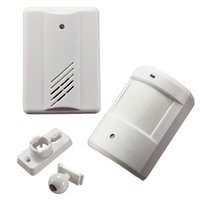 Wholesale Driveway Patrol Garage Infrared White Wireless Human Body Induction Doorbell Home Security Alarm Motion Sensor M