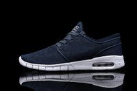 Wholesale Men s SB Stefan Janoski Max Sneakers Brand Mesh Shoes Man Breathable Casual Walking Shoes Zapatillas Size US7