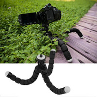 Wholesale 2016 Newest Universal Octopus Mini Tripod Supports Stand Spong For Mobile Phones Cameras