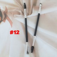 best pencil brush - New Eyebrow Brushes Makeup Eyebrow Pencil Eyebrow Comb Best price DHL