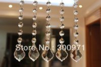 Wholesale 10 inch cm long crystal prism chandelier bead chain crystal prisms for lighting chain by post air mail