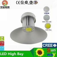 Wholesale AC82 Voptical bay W W W W W High Bay Light LED factory light industrial light SAA UL Approval Sosen Driver bridgelux mil