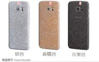 Wholesale Bling Glitter Sticker Full Body Protective Front Back Film Skin Cover For Samsung Galaxy S7 Edge A510 A710 A5 A7 J5 A9 Fashion Package