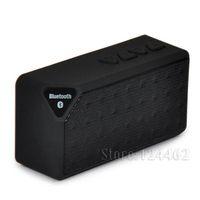 Precio de China inalámbrica inteligente-X3 mini altavoz Bluetooth, altavoces inalámbricos modo de radio FM Audio unidad USB portátil inteligente ayuda del jugador de tarjeta TF con el regalo llevado