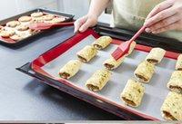 Wholesale Large Size c cm Baking Mat Non Stick Silicone Baking Pad For Cake Cookie Macaron Non Stick Baking Liner