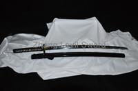 battle ready katanas - A Free Stand A sword Japanese Sword High Carbon Steel Full tang Blade Sharp Custom Real Espadas Katanas Battle Ready