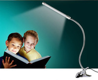 adjustable work desk - Rotating Clamp Work Study Eye Protection Reading Lamp LED Desk Lamp Bedside Lamp White Warm White USB Clamp Adjustable