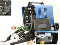 Wholesale 120AMP GAS MAG WELDING MACHINE w Wheels V CO2 GAS Flux MIG WELDER