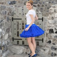 Wholesale Extra Fluffy Teenage Girl Adualt Women Pettiskirt Tutu Women Tutu Party Dance Adult Skirt Performance Cloth Women Tulle Skirts