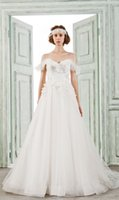 Wholesale Bellabride Sweetheart Lace Ball Gown Beading Sash Ruffles Tulle Church Wedding Dress Bridal Gown White