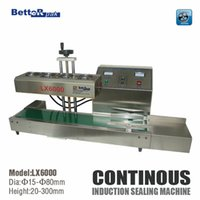 Wholesale LX6000 Desktop stainless steel Continuous Induction Sealer Electromagnetic induction sealing machine suit for mm diameter