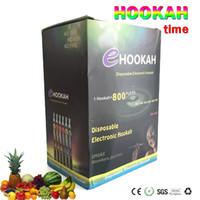 Wholesale Disposable Electronic Cigarettes Ehookah Portable E Shisha Pen puffs Metal Tip E hookah E shisha Flavor E Cig E Cigarette