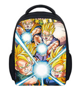 baby green dragon - Hot Children Mini School Bags for Kindergarten Baby Anime Dragon Ball Z Schoolbag Super Saiyan Goku Backpack Cartoon Book Bag