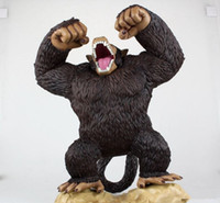 ape red - dragonball The wu is empty transformation Great apes gorilla super huge hand model doll