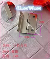 Wholesale Furniture fittings hardware iron hinges doors and window