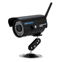 Wholesale P2P H HD P Megapixel Bullet Waterproof WiFi Camera with IR LEDs Indoor and Outdoor Surveillance Camera