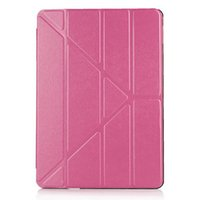 Wholesale Silk Print Ultra Thin Slim Leather Transformers Smart Case Cover For Apple iPad Pro quot quot Stand Cases