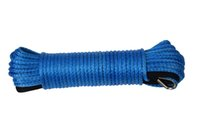 Others atv winch rope - Blue mm m quot ft Synthetic ATV Winch Rope ATV UTV SUV Winch Line Kevlar Winch Rope