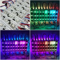 Wholesale DC12V WS2811 RGB LED Module Light Magic Full Color SMD LEDS IP65 Waterproof